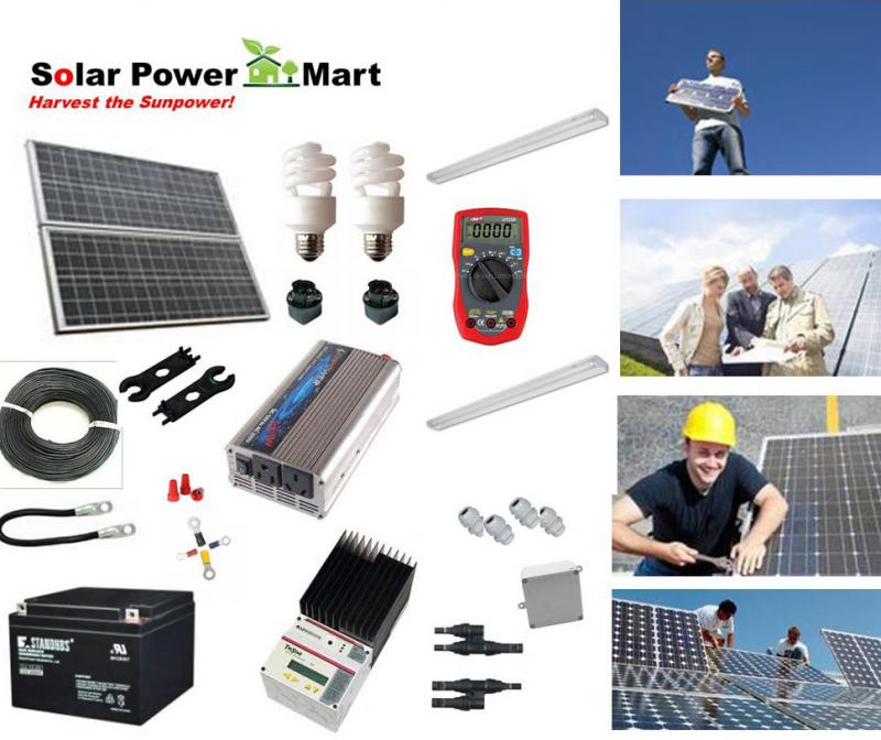 Solar Power DIY Kit