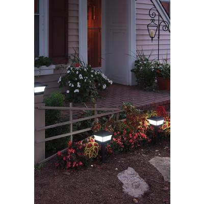 Design for solar garden light as well