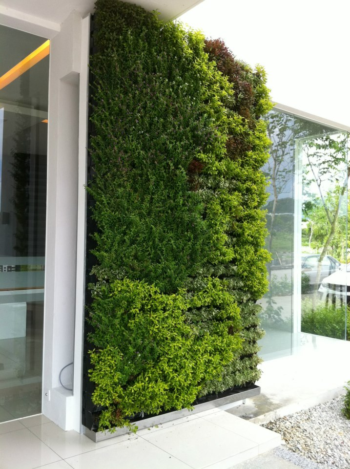 Vertical Pot System Vertical Garden