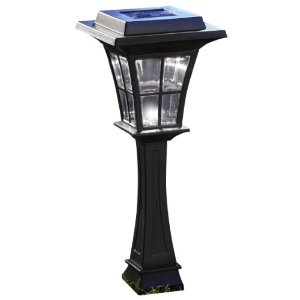 Solar Walker Lamp Post Light