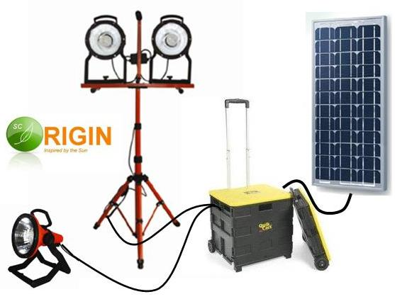 Solar Construction Floodlight