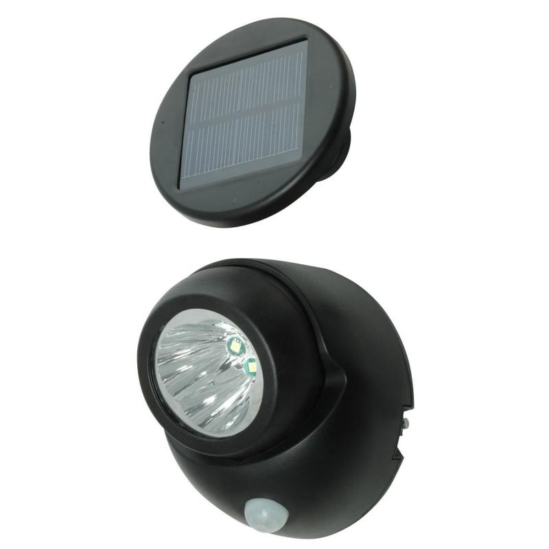 Solar Security Spotlight with PIR Motion Sensor