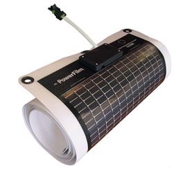 Flexible Rollable Solar Panel