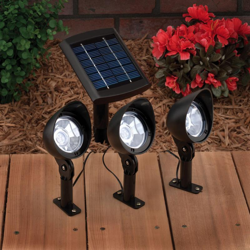 Three Solar Spot Light Set