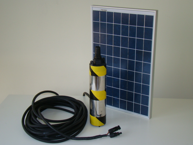 Solar Powered DELTA Deep Well Pump