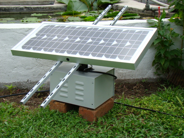 Solar Array and Battery Bank