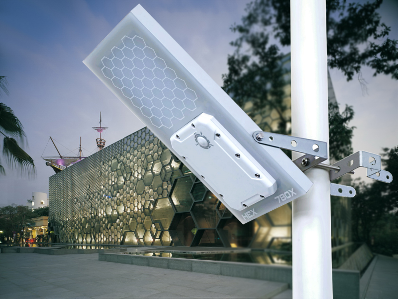 HEX 780X Solar Street Light