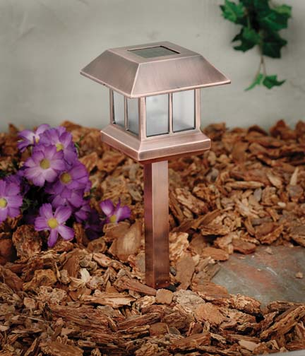 Can be used as Solar Garden Light