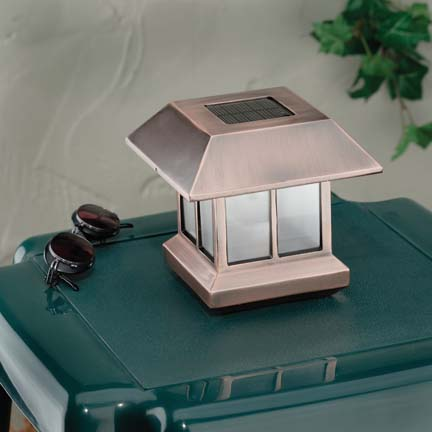 Can be used as Solar Table Light