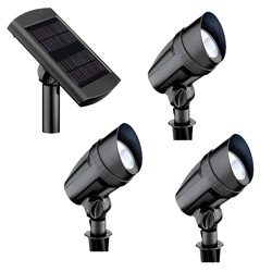 Three Solar Flood Light Set
