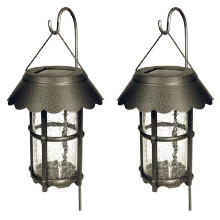 Set of Two Solar Lanterns