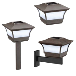 Solar Wall Light - 3 ways use