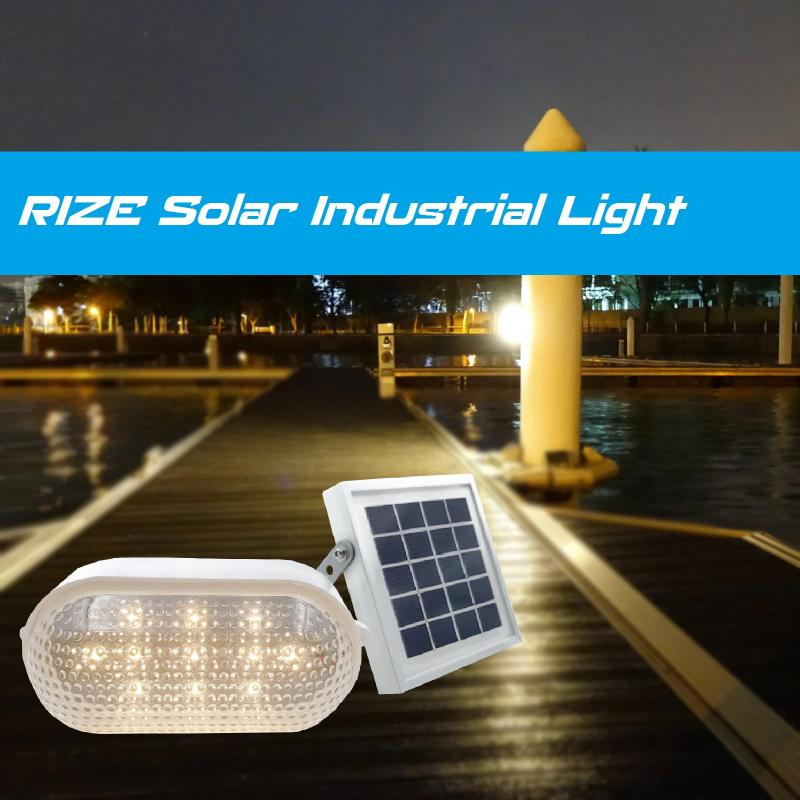 RIZE Solar Industrial Light