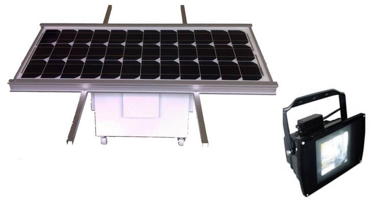 Solar Floodlight
