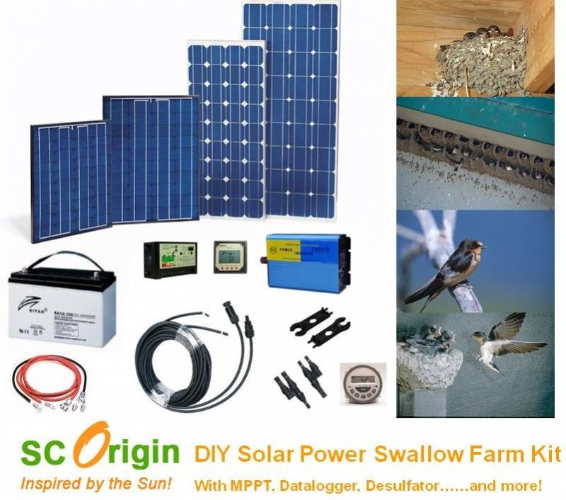 Swiftlet Farm Solar Power DIY