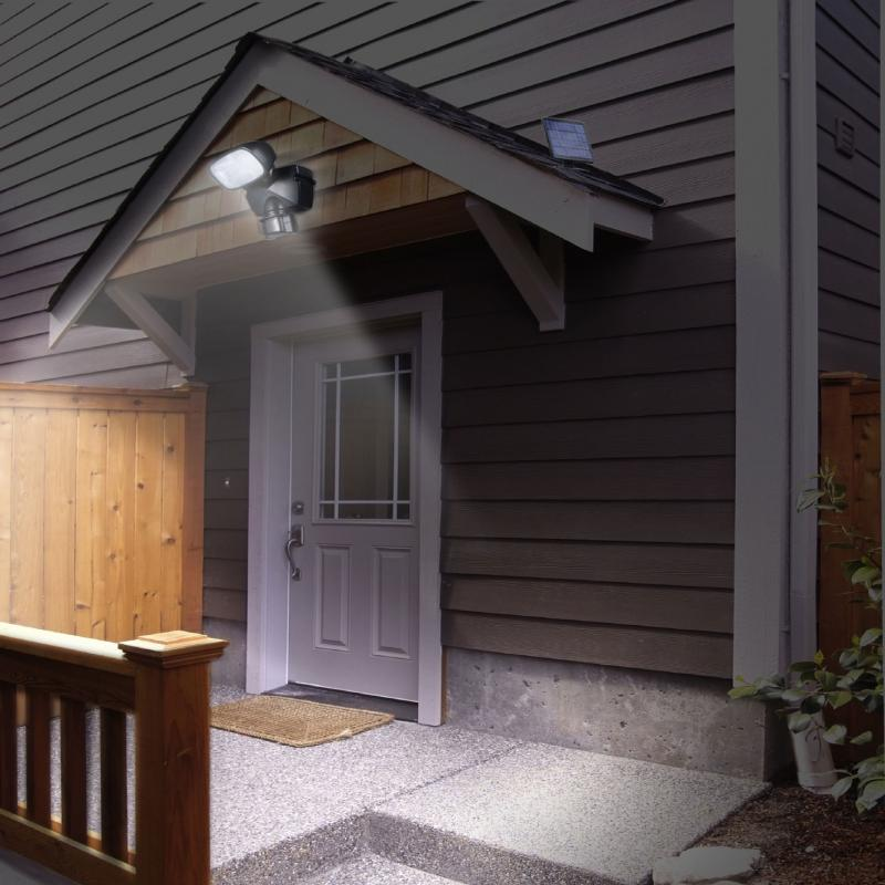 Solar Securty Spotlight with Motion Sensor